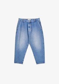 PULL&BEAR - Jeans Relaxed Fit - mottled dark blue - 5
