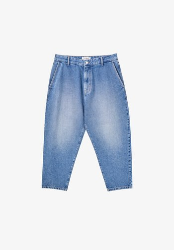Jeans relaxed fit - mottled dark blue