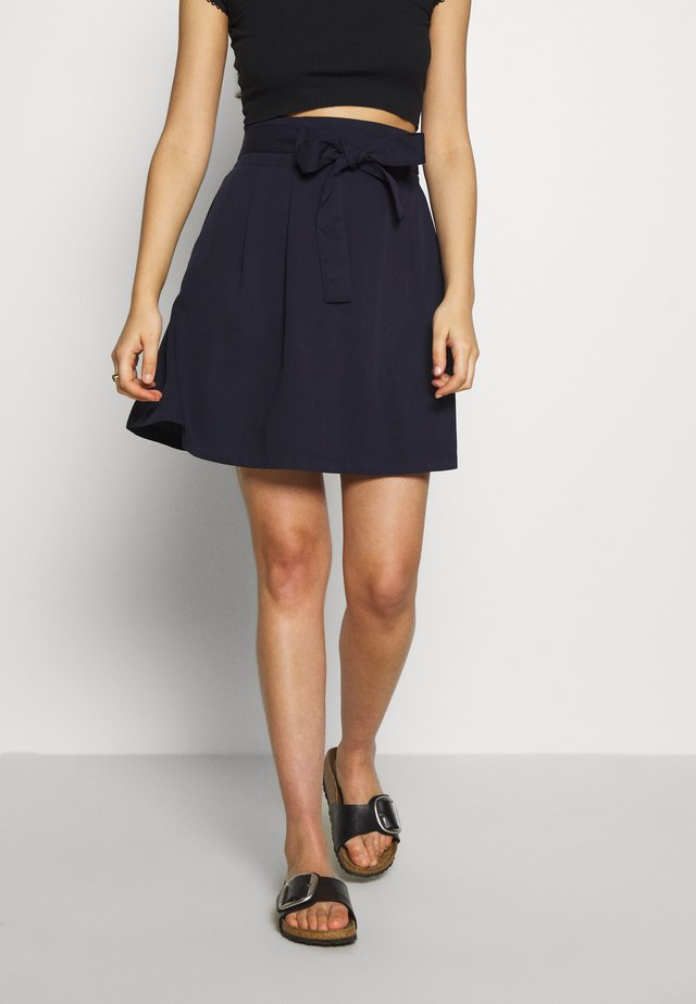 VIVERO SKIRT - Áčková sukně - navy blazer