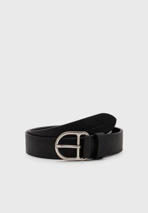CLASSIC ROUND D-RING - Belt - black