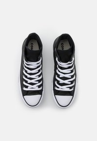 Converse - CHUCK TAYLOR ALL STAR PLATFORM LAYER - Sneakers alte - black/white - 5