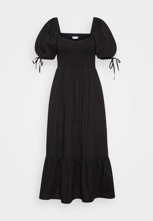 LITHANA MIDI DRESS - Day dress - plain black