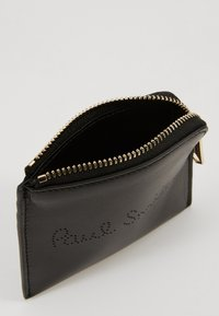 Paul Smith - CORNER ZIP POUCH - Geldbörse - black - 5