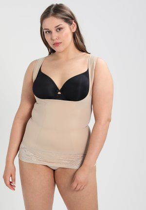 CURVY FIRM FOUNDATIONS  WYOB TORSETTE - Shapewear - body beige