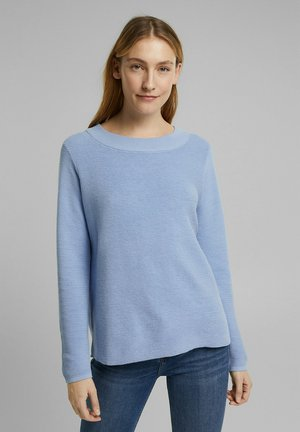 MIT ORGANIC COTTON - Jumper - light blue