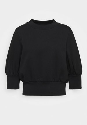 PUFFY FRENCH TERRY - Mikina - black