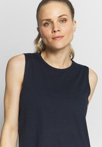 Cotton On Body - TWIST BACK MUSCLE TANK - Toppi - navy - 4