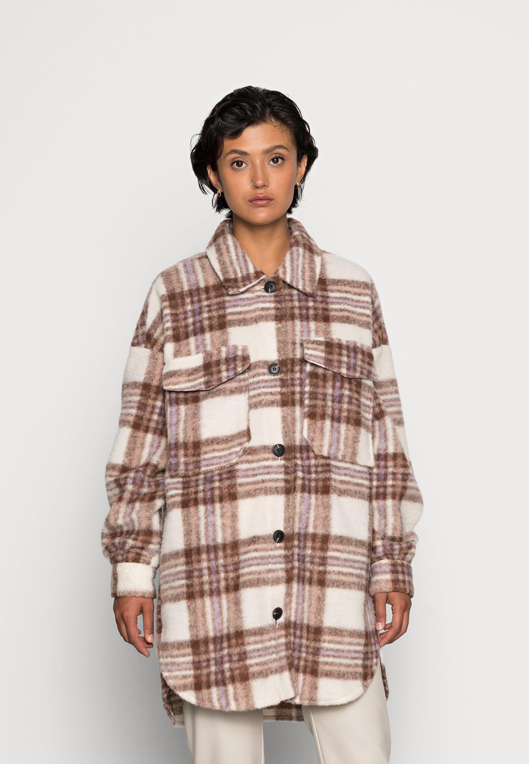 Damen ONLROSA LONG SHACKET - Leichte Jacke