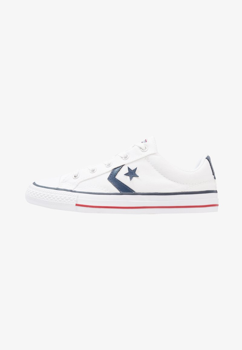 Converse - STAR PLAYER OX - Matalavartiset tennarit - white/navy