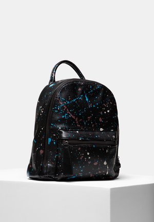 BACK_SKY SPLATTING NAZCA MINI - Tagesrucksack - black