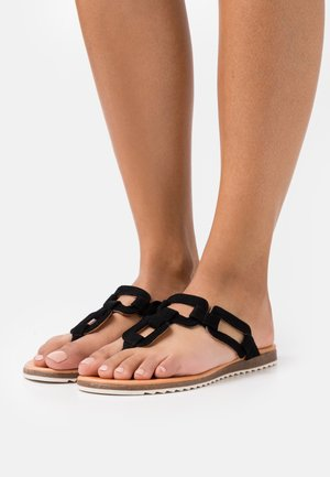 LAYLA - T-bar sandals - black