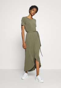 Object - OBJANNIE NADIA DRESS - Maxi-jurk - burnt olive - 1