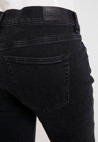Diesel - D-EBBEY - Bootcut jeans - black - 3