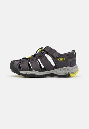 NEWPORT NEO H2 UNISEX - Walking sandals - grey/neon green