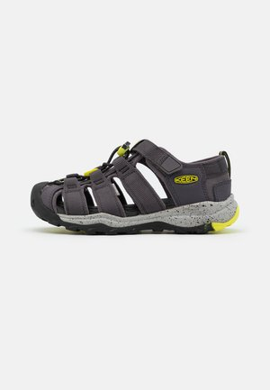 NEWPORT NEO H2 UNISEX - Chodecké sandály - grey/neon green