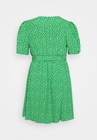 Forever New Curve - BUTTON THROUGH SKATER DRESS - Day dress - jade mini vine ditsy - 1