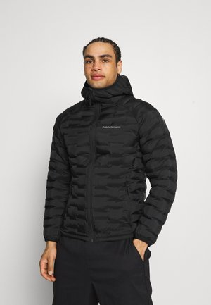ARGON LIGHT HOOD JACKET - Outdoorjacke - black