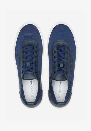 BASKETS EN TRICOT - Trainers - blue