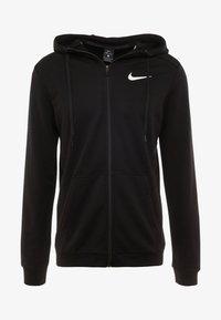 DRY HOODIE  - Zip-up hoodie - black/white