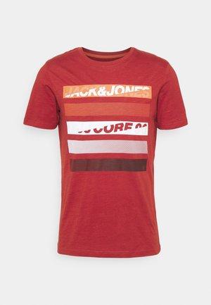 T-shirt imprimé - red ochre