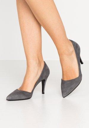 High heels - grigio