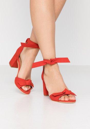 ESTELA - Sandals - red