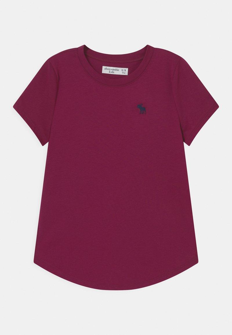 Abercrombie & Fitch - CORE CREW - Camiseta básica - purple potion