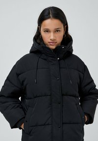 PULL&BEAR - Down jacket - black - 5