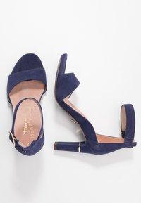 Tamaris Heart & Sole - Sandály na vysokém podpatku - cobalt - 2