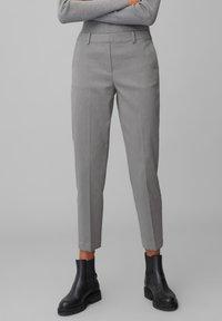 Marc O'Polo - TORUP - Trousers - middle stone melange - 0