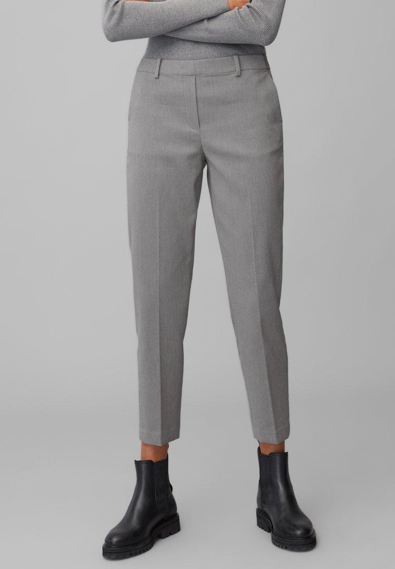Marc O'Polo - TORUP - Trousers - middle stone melange