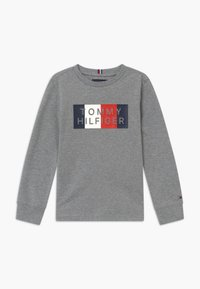 Tommy Hilfiger - GLOBAL STRIPE GRAPHIC - Camiseta de manga larga - grey - 0