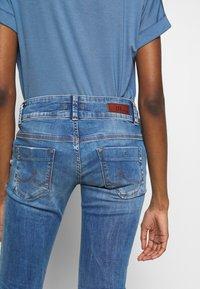 LTB - MOLLY - Slim fit jeans - ritnoblue x wash - 5