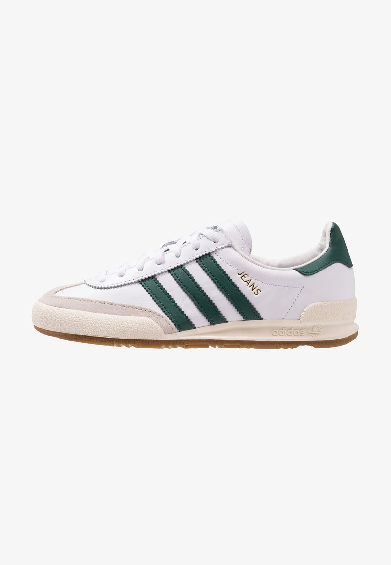 adidas Originals - JEANS - Trainers - footwear white/collegiate green/core brown