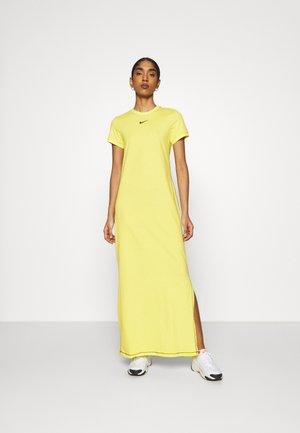 DRESS - Maxi dress - zitron/black