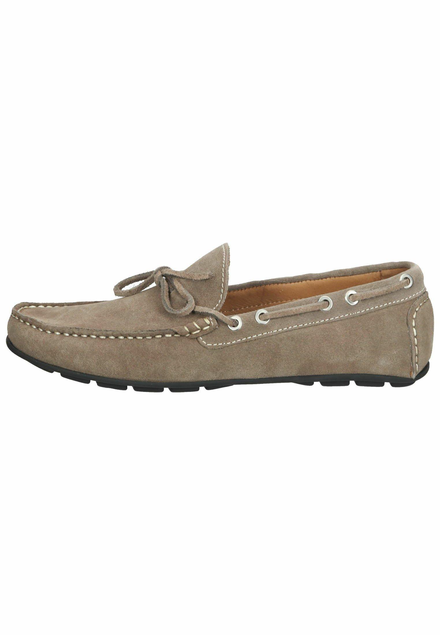 Homme Chaussures bateau - taubengrau/braun