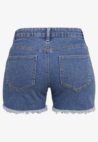 ONLY - ONLSUN REG  - Shorts vaqueros - light blue denim - 1