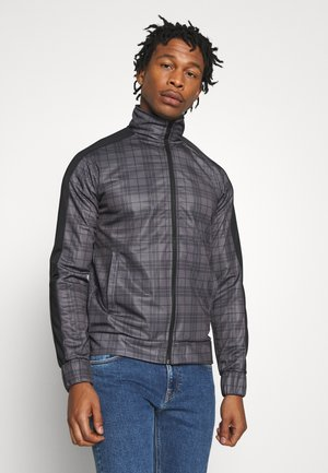 TONY - Training jacket - grey/ black