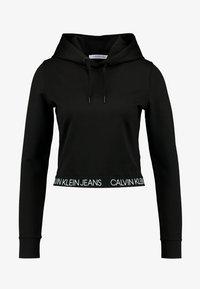 Calvin Klein Jeans - LOGO MILANO HOODIE - Hoodie - black - 3
