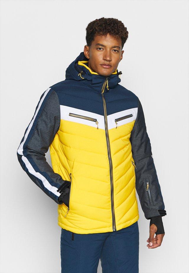 TIRANO - Ski jas - gebranntes gelb