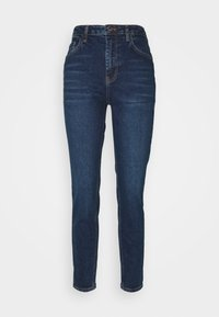 Pieces - PCLEAH MOM  - Jeans relaxed fit - dark blue denim - 3