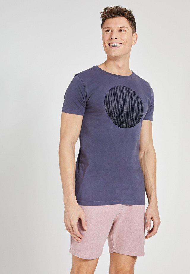 T-shirt imprimé - dusty anthracite grey