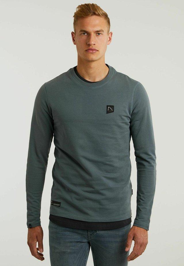 RYLAN - Long sleeved top - dark blue