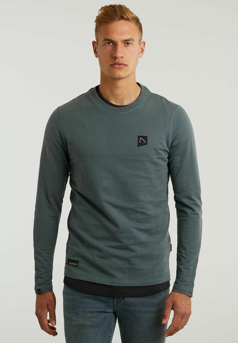 CHASIN' - RYLAN - Long sleeved top - dark blue
