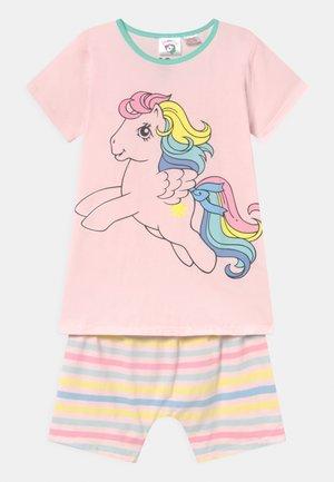 HARPA SHORT SLEEVE - Pyžamová sada - crystal pink