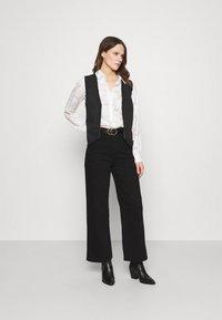 Fabienne Chapot - GILLIAN GILET - Waistcoat - beige/black/brown - 1