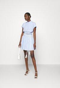 Mossman - THE CRYSTAL SEA SKIRT - A-line skirt - blue/white - 1