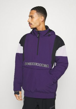 TRANSITION REVERSIBLE ANORAK - Snowboard jacket - grape