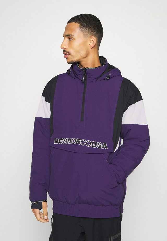 TRANSITION REVERSIBLE ANORAK - Laskettelutakki - grape