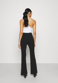 Monki - VIOLET TROUSERS - Trousers - black dark - 2